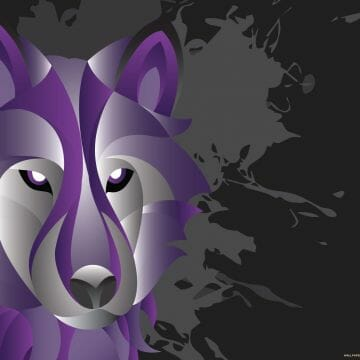 Abstract Wolf Wallpaper - Android / iPhone HD Wallpaper Background Download HD Wallpapers (Desktop Background / Android / iPhone) (1080p, 4k)