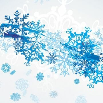 Snowflakes & Stars wallpaper - Abstract wallpaper - Android / iPhone HD Wallpaper Background Download HD Wallpapers (Desktop Background / Android / iPhone) (1080p, 4k)